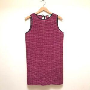MSGM Keyhole Back Tie Net Knit Crochet Shift Dress